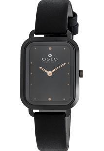 Relógio Oslo Feminino - Olpscs9T0001 G1Px - Preto