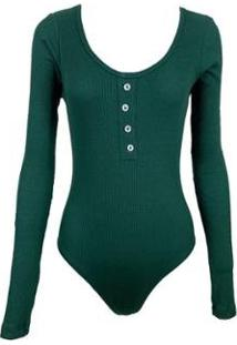 Body Be Sweet Anny Feminino - Feminino-Verde