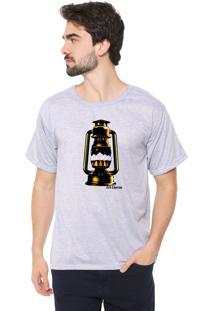 Camiseta Eco Canyon Lamparina Cinza