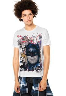 Camiseta Ellus 2Nd Floor Basic Batman Branca