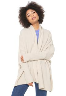 Cardigan Oh, Boy! Tricot Over Bege