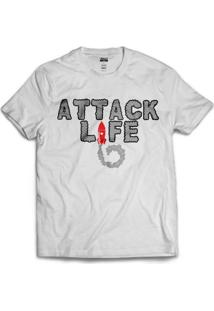 Camiseta Attack Life Rocket Ii - Masculino