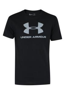 Camiseta Under Armour Logo Ss - Masculina - Preto