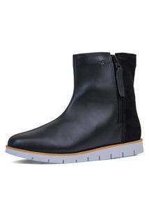 Bota Feminina Cozy Zip Boot Forro Thermal Warm Protection Ref.:21516
