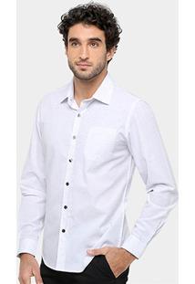 Camisa Xadrez Sergio K Regular Fit Bolso Botonê Masculina - Masculino
