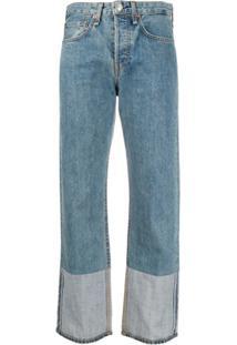 Rag & Bone Calça Jeans Reta Maya - Azul