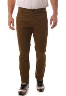 Calça Jeans Denuncia Casual Masculina - Masculino-Verde
