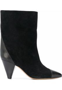 Isabel Marant Ankle Boot Delter - Preto