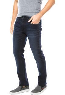 Calça Jeans Calvin Klein Jeans Estonada Azul