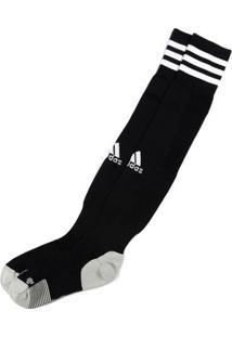 Meia De Futebol Masculina Adidas Preto/Branco