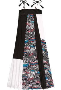 Vestido Longo Estampado Yves - Lez A Lez