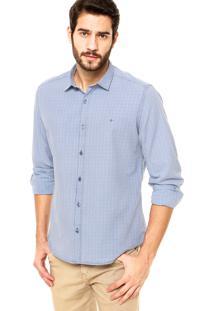 Camisa Aramis Xadrez Azul