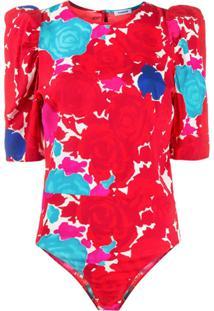P.A.R.O.S.H. Sotty Bodysuit - Vermelho