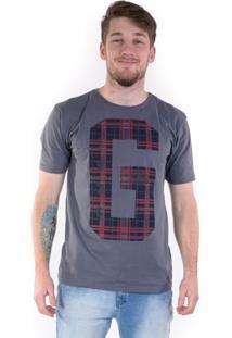 Camiseta Chumbo G Xadrez