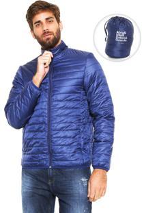 Jaqueta Puffer Fiveblu Pocketable Azul