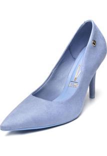 Scarpin Vizzano Camurã§A Azul - Azul - Feminino - Dafiti