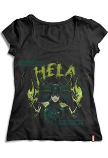 Camiseta Feminina Marvel Thor Ragnarok Hela - Feminino