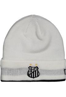 Gorro New Era Santos Team Color Branco