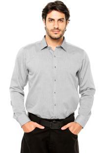 Camisa Mr Kitsch Alexander Cinza