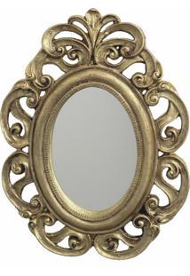 Espelho Casa Da Mãe Joana Trento Dourado