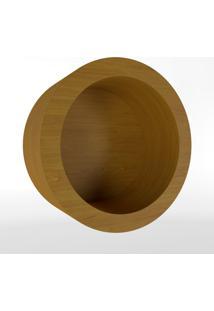 Nicho Redondo Amadeirado Timber