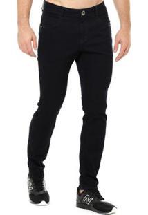 Calça Jeans Denuncia Skinny Masculina - Masculino-Marinho