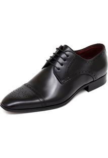 Sapato Social Jardini Linha Premium Preto
