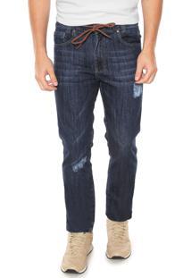 Calça Jeans Timberland Slim Dry Azul