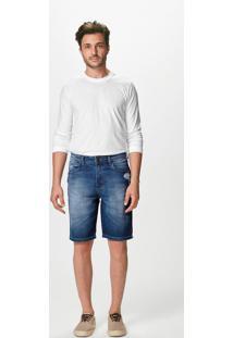 Bermuda Comfort Jeans Sustentável Malwee