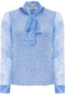 Blusa Feminina Floridian - Azul