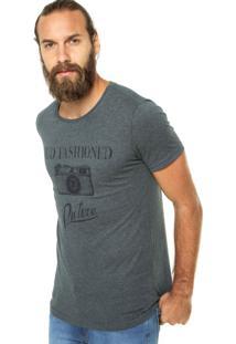Camiseta Benetton Old Fashioned Cinza