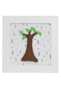 Quadro Decorativo Árvore Quarto Bebê Infantil Menina Menino