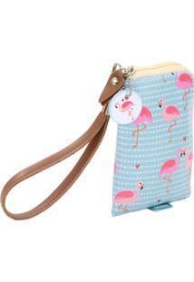 Carteira Para Celular - Coleção Flamingo - Mood