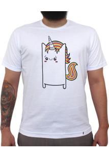 Uni Cuti Córnio - Camiseta Clássica Masculina