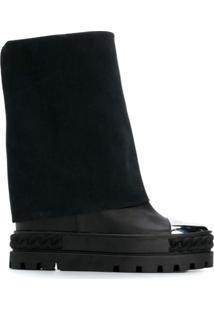 Casadei Ankle Boot - Preto