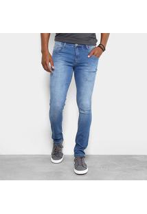 Calça Jeans Skinny Biotipo Estonada Masculina - Masculino