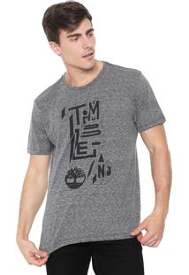 Camiseta Timberland Outline Grafite