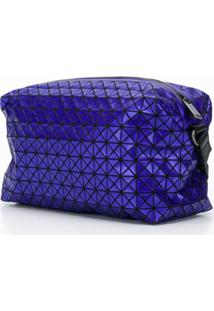 Bao Bao Issey Miyake Bolsa Carteiro 'Puzzle' - Azul