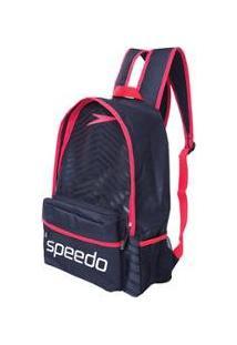 Mochila Speedo Essential Sport Masculina - Masculino-Preto