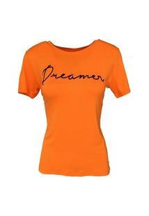 T-Shirt Camiseta Slim Lettering Dreamer