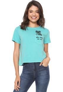 Camiseta Oh Boy Animais Verde