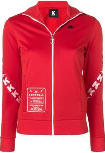 Kappa Kontroll Blusa De Moletom Com Logo - Vermelho