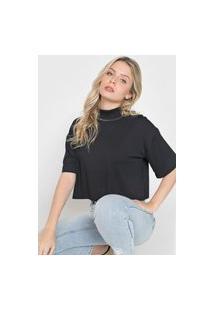 Camiseta Forum Pespontos Preta