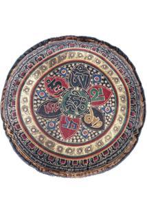 Capa De Almofada Guga Tapetes Redonda Mandala01