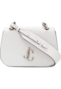 Jimmy Choo Varenne Crossbody Bag - Branco