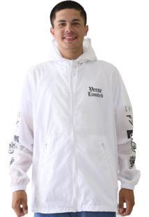 Jaqueta Windbreaker Verse Limited Hype Masculina Branco