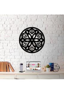 Escultura De Parede Wevans Mandala Amazing + Espelho Decorativo