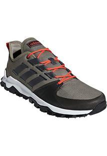 Tênis Adidas Kanadia Trail Masculino - Masculino-Chumbo