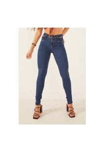 Calça Jeans Denim Zero Skinny Média Tradicional