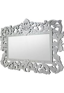 Espelho Musselini- Espelhado & Prateado- 80X120X2Cmrivatti